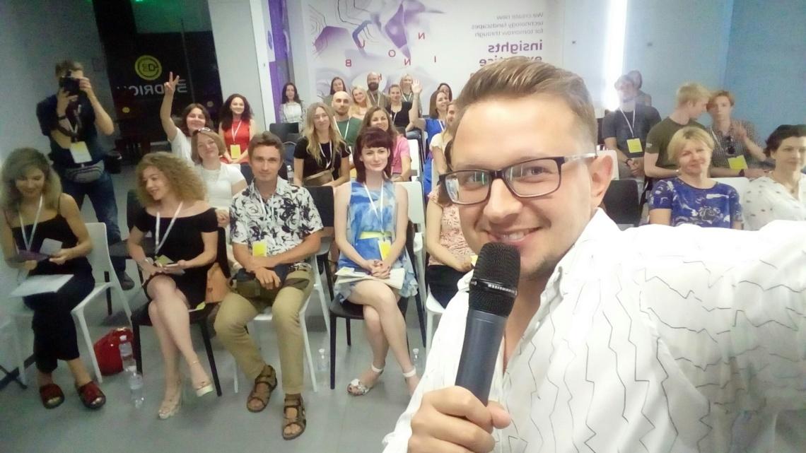 Андрей Жельветро психолог, выступление на Bodrich Day (1)