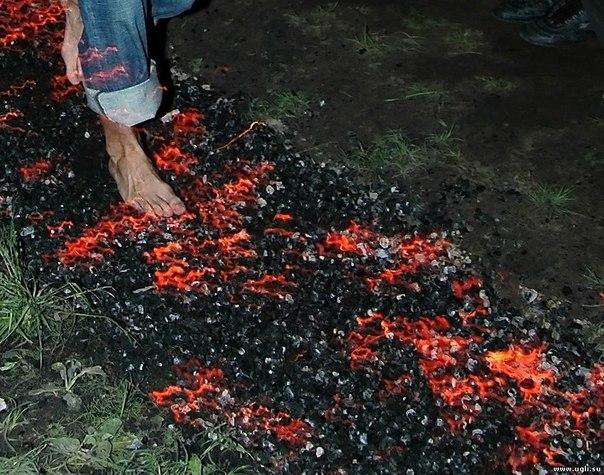 хождение по углям в киеве