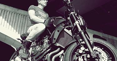 Любомир Гайдамака Yamaha MT 07