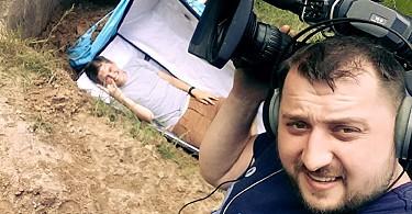 Репортер канала нтн Прядко был погребен заживо