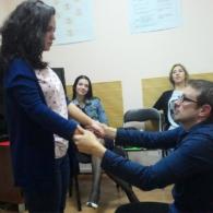 Фото с тренинга публичных выступлений Жельветро