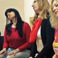 Фото с тренинга публичных выступлений