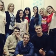 Фото с тренинга публичных выступлений Андрея Жельветро